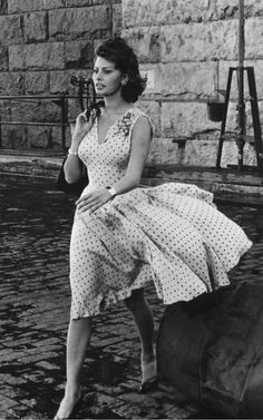 Sophia Loren in That Kind of Woman 1957