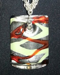 Leather/silver necklace with silver amber and by AccentsbySamantha, $32.00