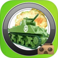 Enter on the #VR Battlefield and be the las man standing! @Tank Shooter for iOS users, by CREAR App! #virtualreality #vrfight http://www.vrcreed.com/apps/vr-tank-shooter/