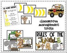 Monkey classroom theme
