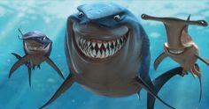 Bruce, Hammer und Hart wollen Vegetarier werden I Findet Nemo | In Disney Digital 3D | #Nemo ©Disney•Pixar