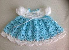 You're going to love Newborn Crochet Dress JANICE PATTERN by designer Jeans Needles. Newborn Crochet Patterns, Crochet Baby Dress Pattern, Baby Dress Patterns, Baby Clothes Patterns, Baby Girl Crochet, Crochet Baby Clothes, Pattern Dress, Crochet Baby Blanket Beginner, Baby Knitting