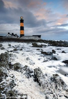 ♖ St. John's Lighthouse, Dundrum, County Down, Northern Ireland. Photograph by Stephen Emerson