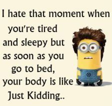 Minions has been one of the extremely hilarious and funny animated movies for all of us which had surely made entire globe fan of it because of the hilarious. Here are 26 Minions Memes exercise Humor Minion, Funny Minion Memes, Minions Quotes, Funny Jokes, Funny Sarcasm, Minion Sayings, Minion Love Quotes, Cats Humor, Mom Jokes