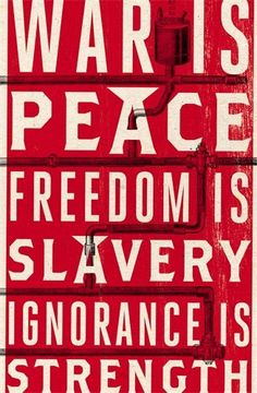 """Nineteen Eighty-Four: Anniversary Edition de George Orwell  While 1984 has come and gone, Orwell's narrative is more timely that ever. 1984 presents a """"negative utopia"""", that is at once a startling and haunting vision of the world — so powerful that it's completely convincing from start to finish. No one can deny the power of this novel, its hold on the imaginations of entire generations of readers, or the resiliency of its admonitions"""
