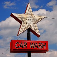 STAR CAR WASH STAR ~ Saint Joseph, Missouri USA ~ Copyright ©2012 Bob Travaglione ~ FoToEdge Images ~ www.FoToEdge.com