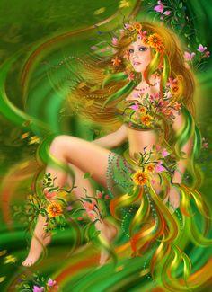 Summer Digital Art  - Summer Fine Art Print