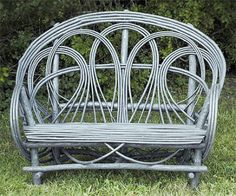 """Wider version of the Painted Chair. Can be left natural or painted any color. 28""""x60""""x44"""""""
