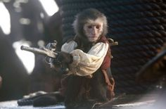 Jack the monkey (Pirates Of The Caribbean: The Curse Of The Black Pearl)