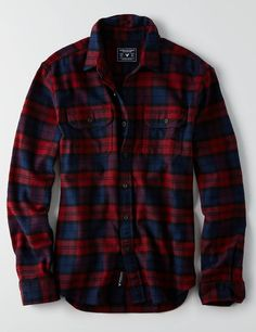 This ultra-soft flannel is crafted in a heartier weight, and finished with a timeless plaid pattern. Picnic Outfits, Mens Outfitters, Eagle Outfitters, Men Style Tips, Mens Clothing Styles, Women's Clothing, Casual Street Style, Fashion Wear, Casual Shirts For Men