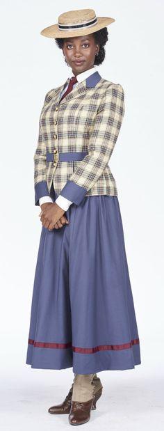 Mouna Traoré as Rebecca James in Murdoch Mysteries (Photo: Christos Kalohoridis for Shaftesbury; Copyright: Shaftesbury)