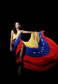 Image result for venezuela girls with flag