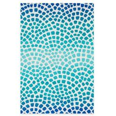 Loloi Rugs Cassidy Tile Rug in Blue - BedBathandBeyond.com