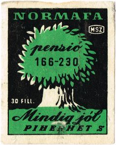 054 - Hungarian Matchbox Archive