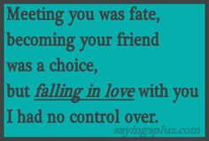 quotes about falling in lov