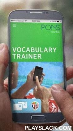 PONS Vocabulary Trainer  Android App - playslack.com ,  PONS Vocabulary Trainer– the Vocabulary Trainer App that remembers the words you've looked up!At last you can integrate the words you've looked up in the dictionary into your active vocabulary. Use your time on the move effectively - in a waiting room or at the bus stop, for example. With this app you can collect and practise the vocabulary you need wherever and whenever you wish!Who is this app for?It's ideal for all learners of…