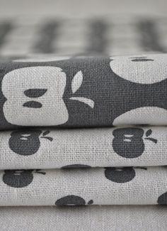 handmade apple fabric from blueberry ash