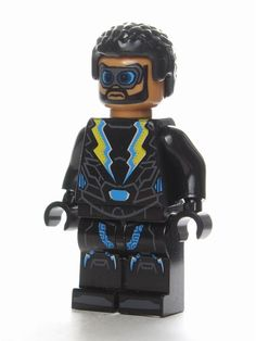 All Lego, Lego Dc, Lego Custom Minifigures, Black Lightning, The Cw, Lego Ninjago, Popular Culture, 5th Birthday, Minions