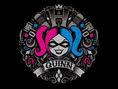 QU1NN T-Shirt - Harley Quinn T-Shirt is $17 at TeeFury!