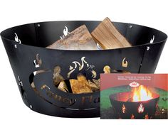 Metal Fire Ring Flame