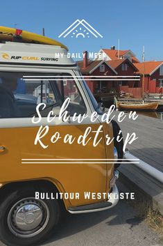 Sweden road trip: our Bullitour 2018 - Traveling in Sweden by Bulli: sightseeing, parking spaces, fika and the most beautiful places on th - Camping Info, Camping And Hiking, Camping Hacks, Camping Car, Outdoor Camping, Voyage Suede, Roadtrip Europa, Hawaii Things To Do, Road Trip