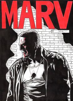 "Mickey Rourke è MARV!   (""Sin City"") <3"