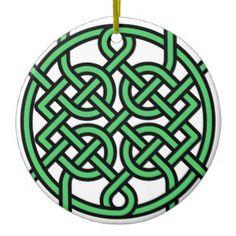 Leuke inspiratie voor de Keltische kerstboom...