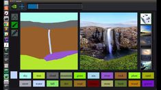 NVIDIA has created an interactive application that uses generative adversarial networks or GANs to create photorealistic photographic images by the rough doodles. This application was named Gaugan after the famous post-impressionist Paul Gauguin. Web Design, Visual Design, Game Design, Paul Gauguin, Brainstorm, Motion Design, Rock Plants, Bob Ross, Deep Learning