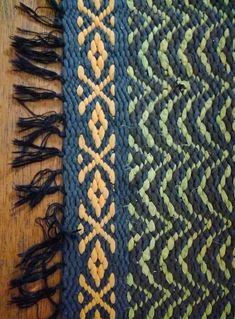 Kirkonkaari matto Tapestry Weaving, Loom Weaving, Hand Weaving, Home Textile, Textile Art, Rug Weaves, Tyger, Rag Rugs, Recycled Fabric