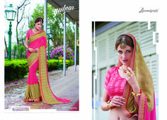 """Browse our the latest """"GULNAR"""" Catalogue Designer & Embellished Sarees for your special occasion. Check Price @ #Catalogue #GULNAR #ReadyToWear #OccasionWear #Ethnicwear #FestivalSarees #Fashion #Fashionista #Couture #LaxmipatiSaree #Autumn #Winter #Women #Her #She #Mystery #Lingerie #Black #Lifestyle #Life #ColoursOfIndia #HappyBride #WhoYouAre #WomanPower #EpicLove #MinistryofTextiles #GULNAR0816 #Festival"""