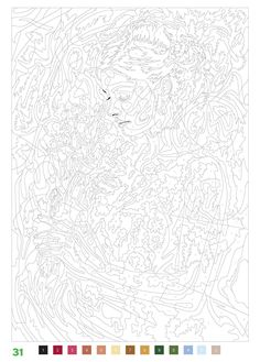Adult color by number printable Abstract Coloring Pages, Pattern Coloring Pages, Printable Adult Coloring Pages, Colouring Pages, Free Coloring, Coloring Sheets, Coloring Books, Adult Color By Number, Color By Number Printable