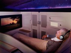 The Most Luxurious First Class Airplane Cabins - Photos