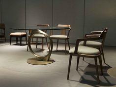 Theta table and Tilly chair by Porada