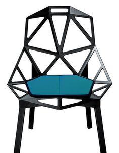 Cuscino Chair One, Azzurro di Magis, Made In Design Italia  94 euro