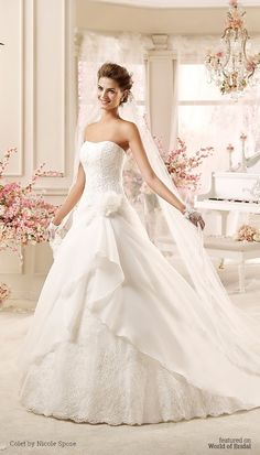 Colet by Nicole Spose 2016 Wedding Dress