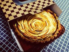 Chai Apple Rose Tart - there just something about chai that I love.