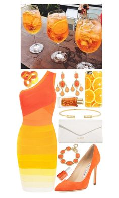 """the sun won't set on us"" by loveselena22 ❤ liked on Polyvore featuring Manolo Blahnik, Vera Bradley, Casetify, Jemma Wynne, 1st & Gorgeous by Carolee, Essie and Lancôme"
