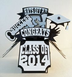 Graduation Card In A Box by MyCasualWhimsy on Etsy,