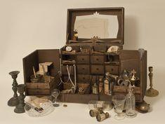 Cabinet de curiosité M, Pour bijoux, Petites Curiosités, Christophe Mazuyet