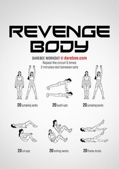 Survival Muscle - workouts The Hidden Survival Muscle In Your Body Missed By Modern Physicians That Keep Millions Of Men And Women Defeated By Pain, Frustrated With Belly Fat, And Struggling To Feel Energized Every Day Weekly Workout Plans, At Home Workout Plan, Gym Workouts, At Home Workouts, Muscle Workouts, Revenge Body Workout, Neila Rey Workout, Darbee Workout, Workout Routines
