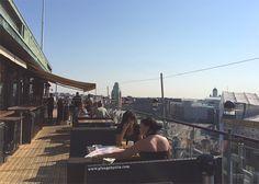 Sokos Hotel Vaakuna, Helsinki. Rooftop terrace. www.plungebytiia.com