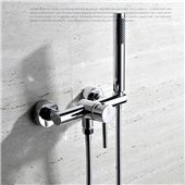 HPB Brass Bathroom Hot And Cold Water Bathtub Mixer Bath Shower Faucet torneira banheiro Bathroom Shower Faucets, Brass Bathroom, Bathroom Fixtures, Bath Shower, Contemporary Bathtubs, Wall Mount Tub Faucet, Glass Waterfall, Shower Valve, Curved Glass
