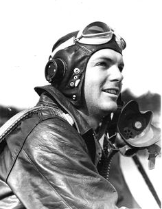 WWII pilot - Cole loves this stuff.