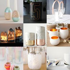 DIY Votives for Outdoor Entertaining