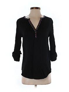 A Common Thread Women 3/4 Sleeve Blouse Size S