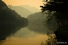 The Ping River, Tak Province.
