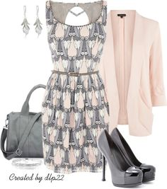 """""""Gray & Pink"""" 'nuff said...the perfect addition to GRAY for me (& you too)! Pop of pink is #nakedtoknockout"""