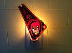 Vintage Pinball slingshot plastic Night Light by wirenot on Etsy, $15.00