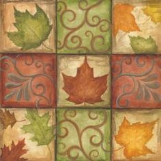 Host the ultimate fall-themed engagement party or bridal shower with these pretty table covers! Paper Guest Towels, Art Chinois, Plastic Table Covers, Wedding Plates, Stencil, Art Japonais, Shabby, Decoupage Paper, Art Plastique