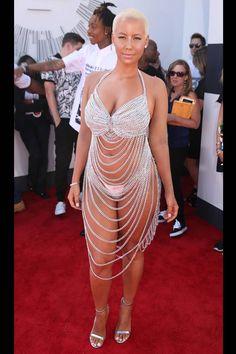 Amber Rose, Mtv Video Music Award, Music Awards, Goth Women, Beautiful Legs, Beautiful Women, Silver Dress, Wedding Art, Plus Size Dresses